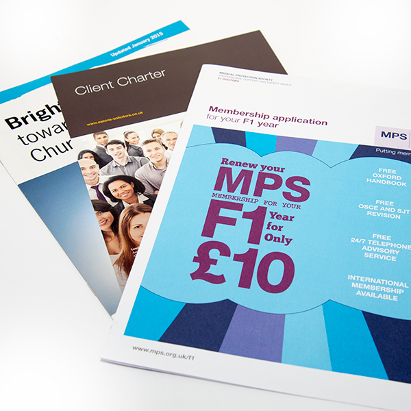 A4 double Sided Leaflets