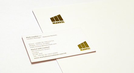 Markel Stationery